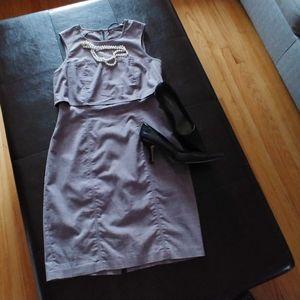 MARC NEW YORK gray dress size 4
